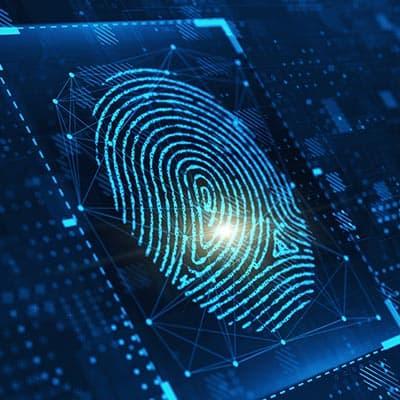 Digital representation of a fingerprint