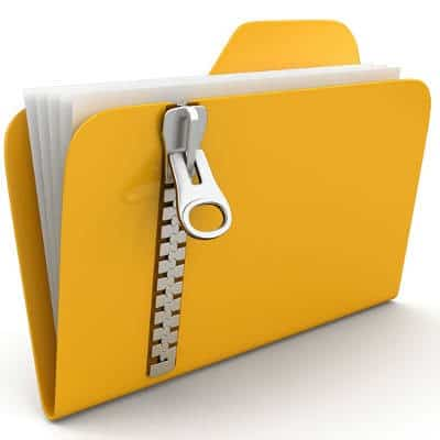 Concept Art: File folder with a zipper